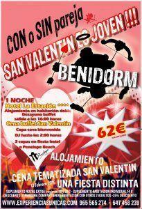 San Valentin Benidorm