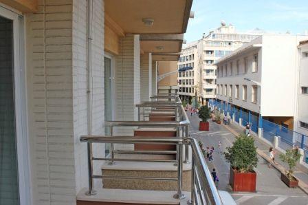 Apartamentos Maja en Benidorm, terraza.