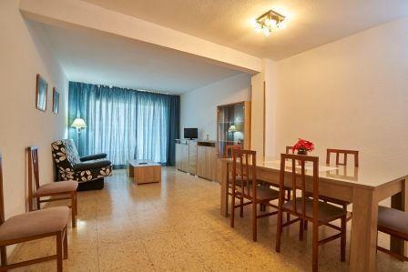 Apartamentos Maja en Benidorm, salón.