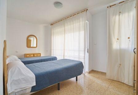 Apartamentos Maja en Benidorm, dormitorio.