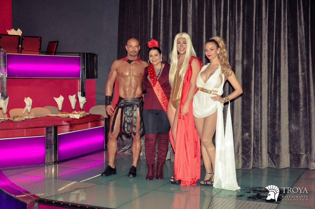 despedidas Murcia, despedida de soltera en murcia, discoteca troya animadoras