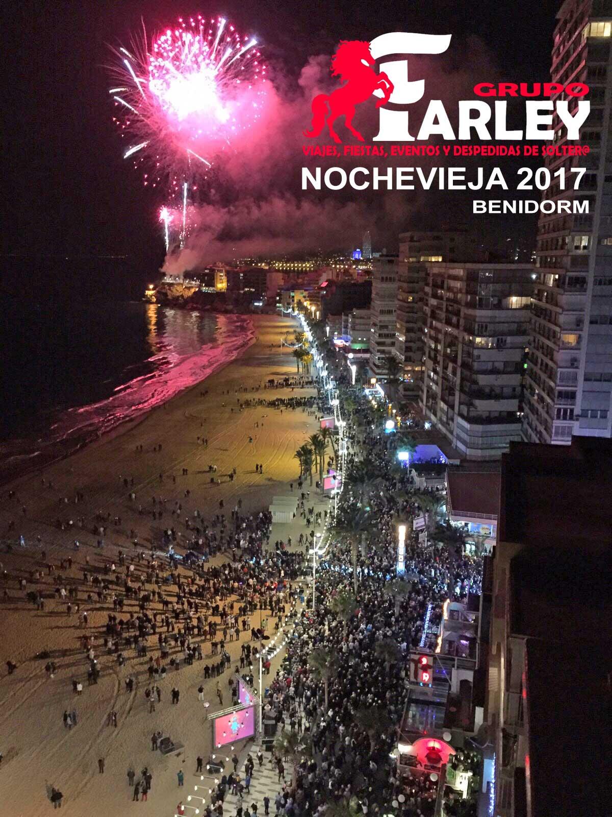 Nochevieja Benidorm Playa 40 Principales