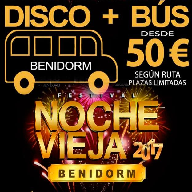 Bus fin de año Benidorm 2017