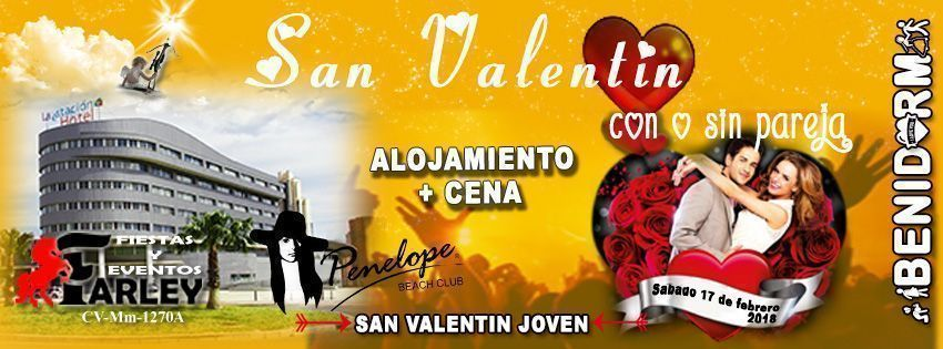 San Valentín 2018 en Benidorm