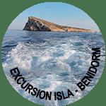 excursion isla benidorm