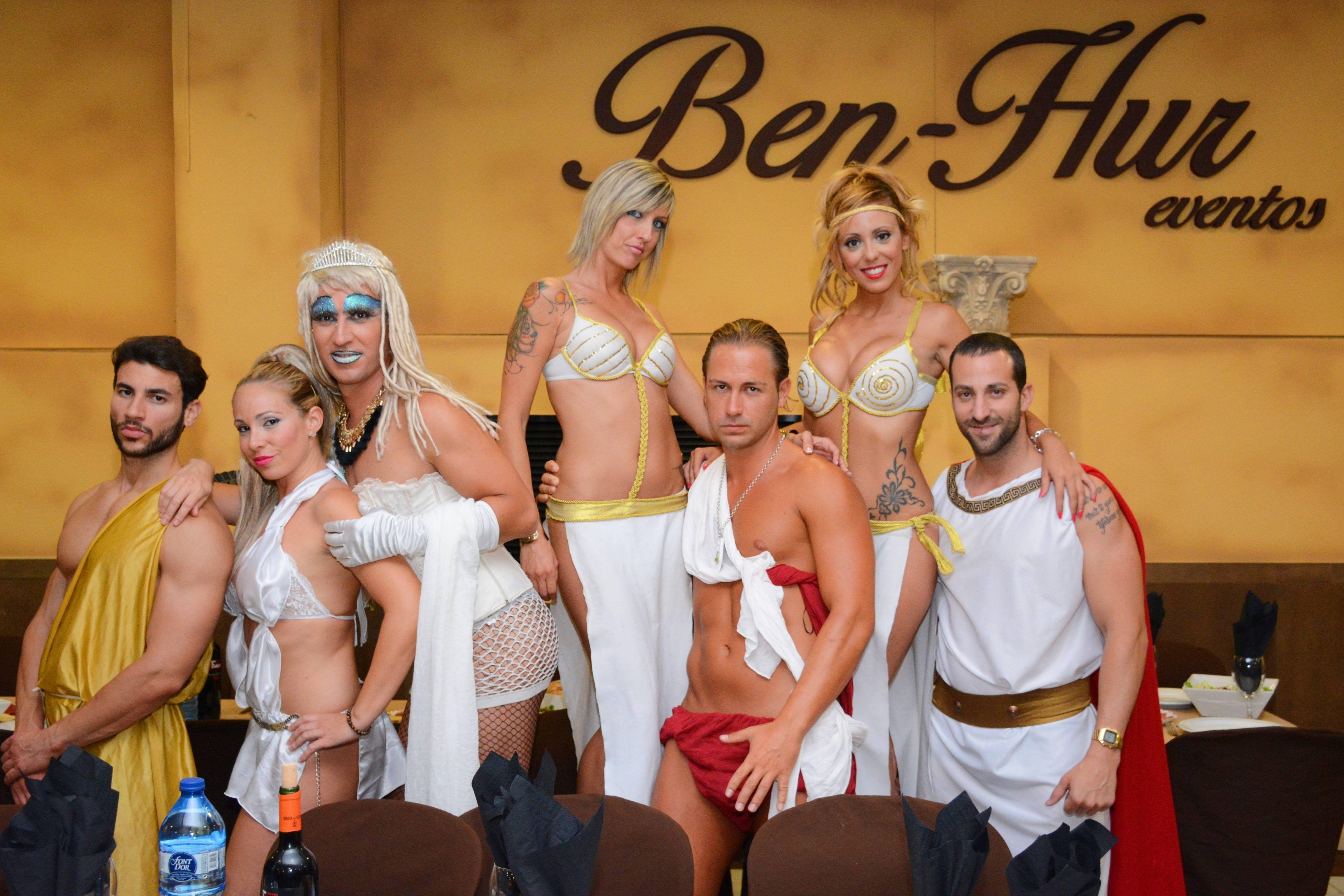 Despedida de soltera en Ben-Hur, Benidorm, Animadores.