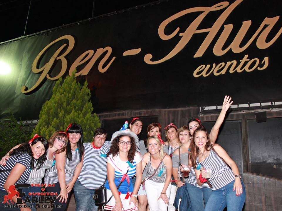 Despedida de soltera en Ben-Hur, Benidorm