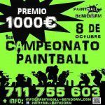 Campeonato de Paintball en Benidorm