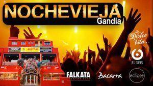 Fin de año Gandia discoteca Falkata