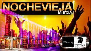 Fin de año Murcia discoteca Teatre restaurante Troya