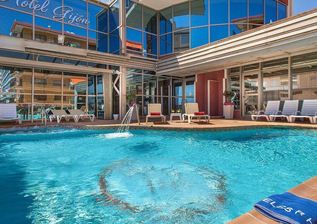 nochevieja en gandia 2017 hotel gijon piscina