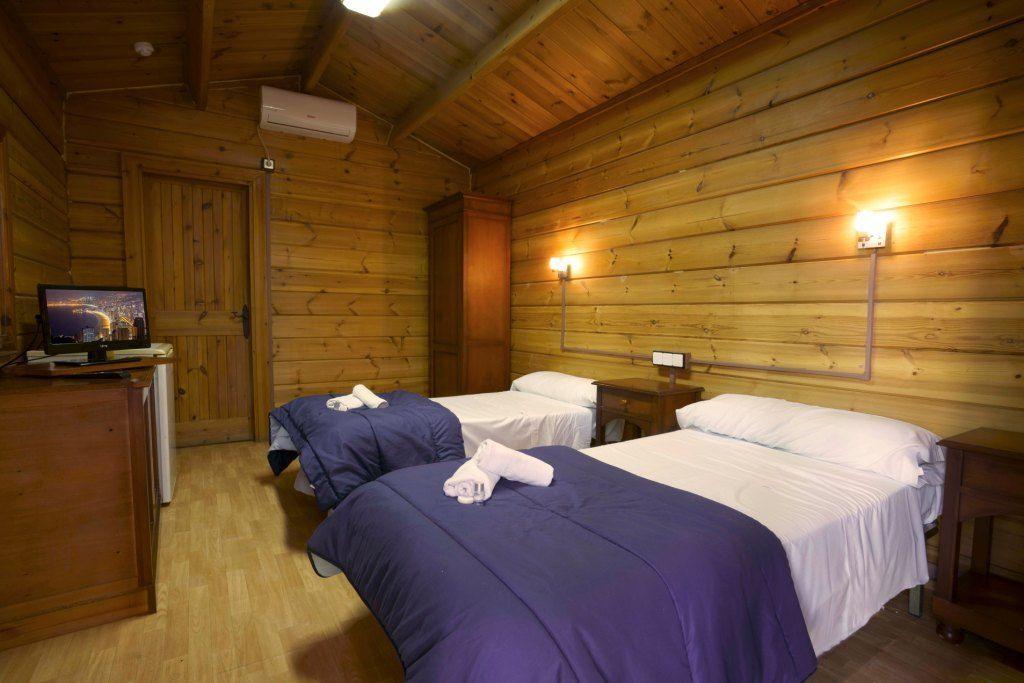 hotel europeo benidorm cabaña