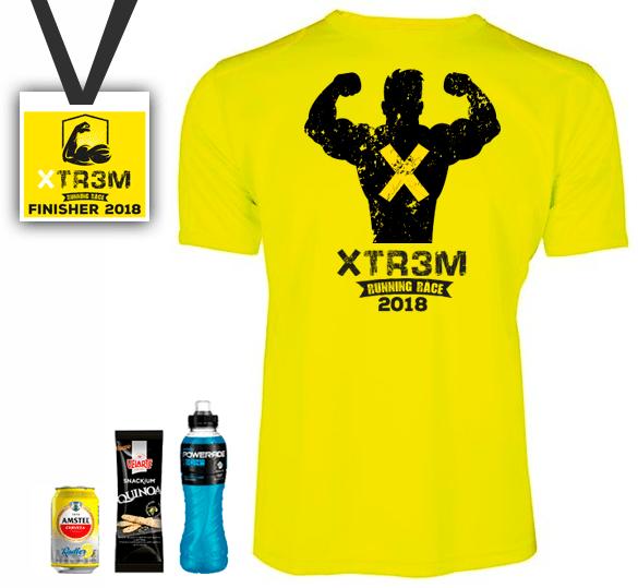 xtrem running benidorm camiseta