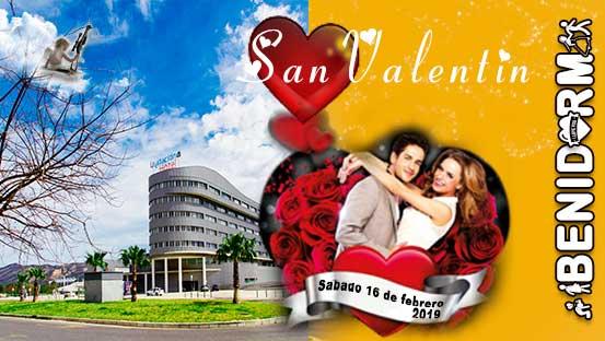 Celebra San Valentin en Benidorm Hotel La Estación