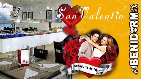 Celebra el dia de los Enamorados en Benidorm