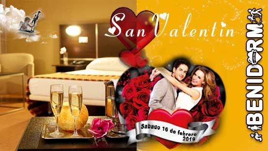 Celebra San Valentin en Benidorm alojamiento
